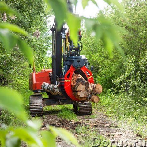 Захваты для леса гидравлический жесткий подвес - Сельхоз и спецтехника - Производим и реализуем грей..., фото 1