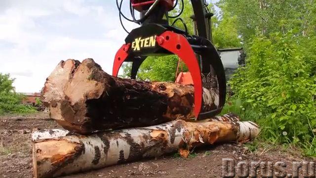 Захваты для леса гидравлический жесткий подвес - Сельхоз и спецтехника - Производим и реализуем грей..., фото 2