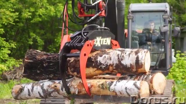 Захваты для леса гидравлический жесткий подвес - Сельхоз и спецтехника - Производим и реализуем грей..., фото 3